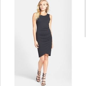 🌺Leith Ruched Black Dress
